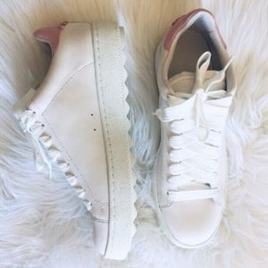 COACH low top platform sneakers size 10 new